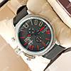 Яркие наручные часы U-boat Italo Fontana Silver-Black-Red 3905