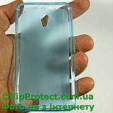 Lenovo A319, синій силіконовий чохол, фото 2