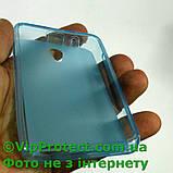 Lenovo A319, синій силіконовий чохол, фото 3