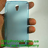 Lenovo A319, синій силіконовий чохол, фото 4