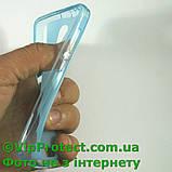 Lenovo A319, синій силіконовий чохол, фото 5