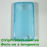 Lenovo A319, синій силіконовий чохол, фото 6