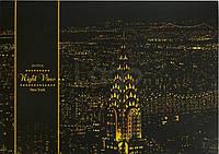 """Скретч-набор Lago (ночные города) """"Нью-Йорк"""""""