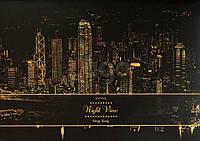 """Скретч-набор Lago (ночные города) """"Гонконг"""""""