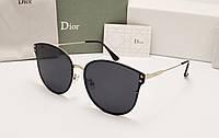 Женские солнцезащитные очки Dior 1559 черный цвет, фото 1