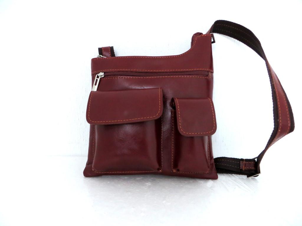 7bb3ef7327cc Мужская сумка- планшет. Натуральная кожа. Италия. Коричневый -  Інтернет-магазин