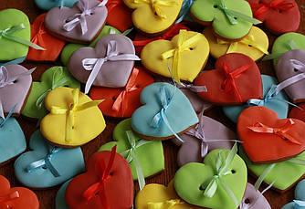 Пряники-Валентинки маленькие