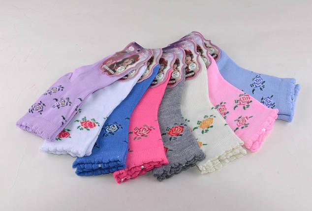 Детские носки цветные Розочки р.26-28 (C192/M) | 12 пар, фото 2