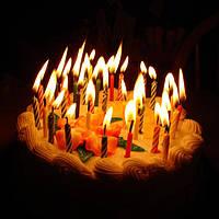 Тортовые свечи