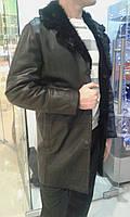 Дубленка с воротником из меха тоскана, фото 1