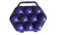 Лоток для 10 яиц пластиковый, контейнер для яиц, тара (упаковка) для яиц, фото 1