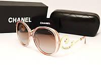 Женские солнцезащитные очки Chanel 1663 розовый перламутр, фото 1