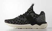 Кроссовки женские Adidas Tubular Runner Stone (адидас) черные