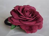 Гумка-прикраса для волосся Троянда