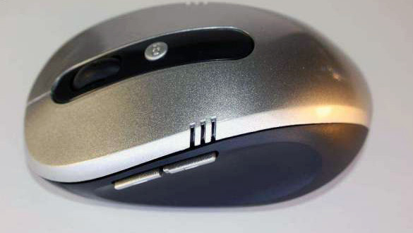 Беспроводная USB мышь G109 800/1600 DPI Black USB, Беспроводное, Silve