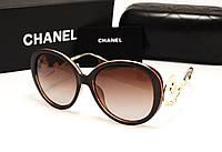 Женские солнцезащитные очки Chanel 1663 коричневый цвет, фото 1