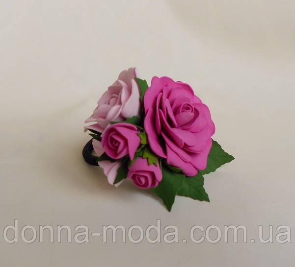 Резинка для волос Розы