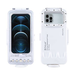 Водонепроникний чохол для дайвінгу для iPhone c ураженням до 45 метрів PULUZ