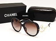 Женские солнцезащитные очки Chanel 1663 лео, фото 1