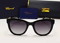 Женские солнцезащитные очки Chopard 6101 черный цвет