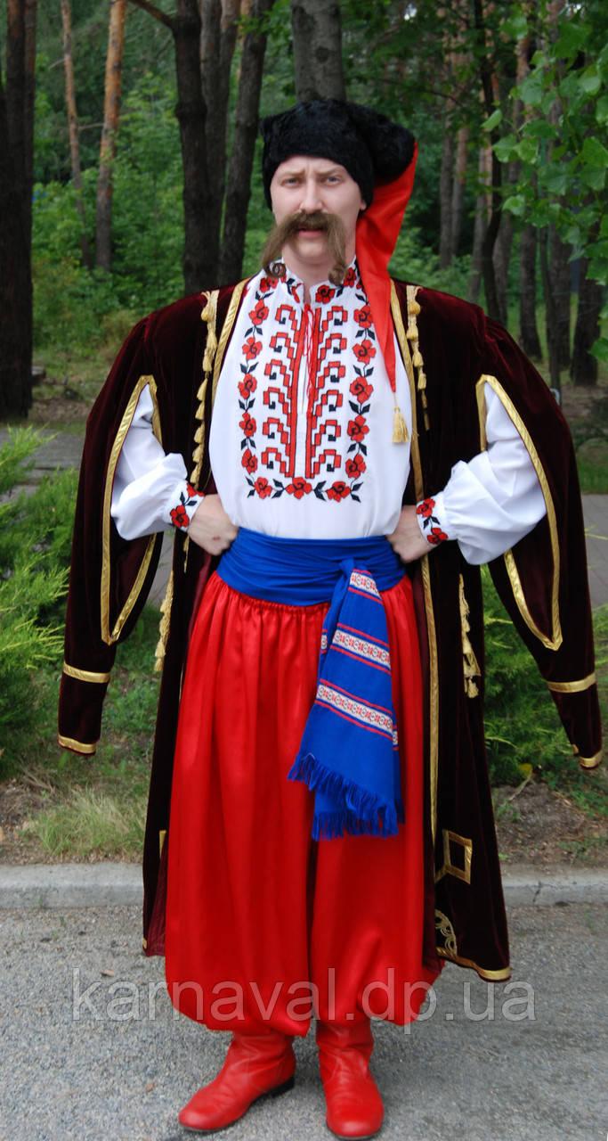 """Костюм """"Украинский козак"""" напрокат"""