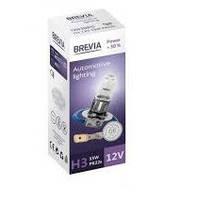 Лампа BREVIA H3 12V 55W PK22s Power +30% CP (шт.)