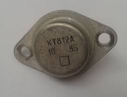 КТ812А транзистор кремниевый NPN (12А 700В) 50W