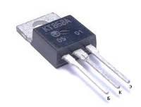КТ858А транзистор NPN (10А 400В) 60W (ТО220)