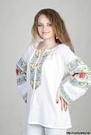 Женская VIP-вышиванка ручной работы 065, фото 1