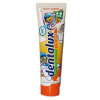 Зубна паста для дітей DENTALUX For kids Fruit Orange 100мл