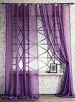 Декоративные шторки из вуали №4(чернильные)