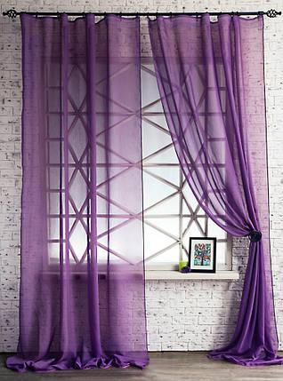Декоративные шторки из вуали №4(чернильные), фото 2