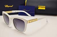 Женские солнцезащитные очки Chopard  6101 белый цвет