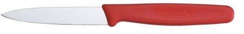 Кухонный надежный нож для нарезки фруктов и овощей Victorinox Vx50601 красный