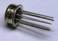 MAA501 (LM709) (NI) TESLA Усилитель входного напряжения: +/- диапазон 10V