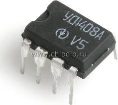 КР140УД1408А (LM308J) прецизионный операционый усилитель с малыми входными токами и малой потребляемой мощн.