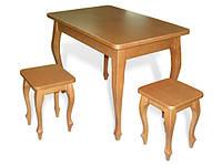 Стол с табуретами Кабриоль