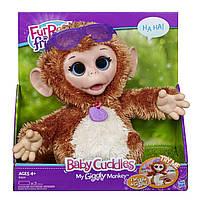 FurReal Friends Интерактивный детеныш смешливой обезьянки