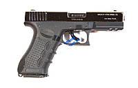 Стартовый пистолет Stalker (Zoraki) 917 s shiny-chrome/black, пистолеты, стартовые, оружие, шумовые