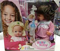 Кукла-пупсик Baby Born девочка Baby Toby 1