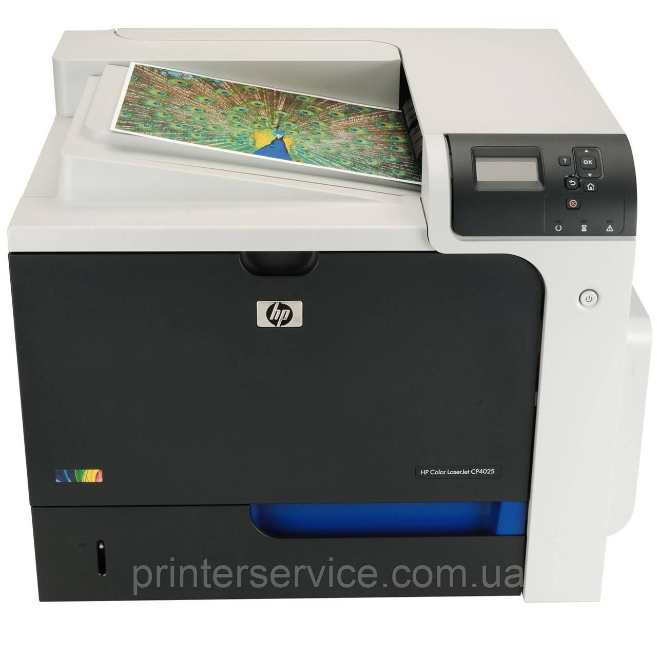 БУ цветной лазерный принтер HP color laserjet enterprise CP4025dn формата А4
