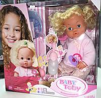 Кукла-пупсик Baby Born девочка Baby Toby 5