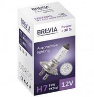 Лампа BREVIA H7 12V 55W PX26d Power +30% CP (шт.)