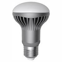 LED лампа Electrum R63 LR-14 6W (500Lm) E27 4000K алюм. корп.