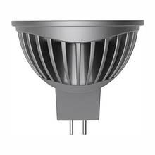 LED лампа MR16 (GU5,3) 5W(350Lm) 2700K LR-19 Electrum 220VAC алюм. корп.
