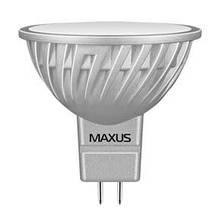 LED лампа MR16 (GU5.3) 4W(350lm) 3000K 220V AP Maxus