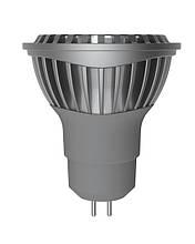 LED лампа Electrum MR16 GU5,3 6W(430Lm) 2700К AL LR-C 220V алюмін. профілю. корп.