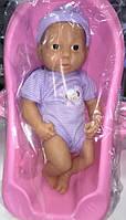 Кукла-пупс в ванной 2