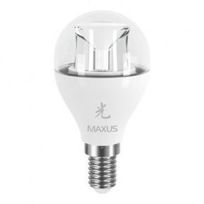 LED лампа E14 Maxus G45 6W (500Lm) 5000K 220V AP