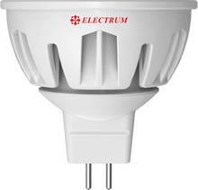 LED лампа Electrum MR16 LR-28 7W GU5,3 4000K (530Lm) 4000К 220V GU5,3 алюмін. профілю. корп.